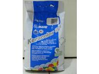 Mapei tailing filer bathroom or kichen so left for me 5kg maipei filer between tailes