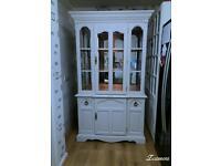 Beautiful white dresser Display Cabinet