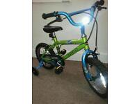 Bugg™ Major Damage. Child's 14' bicycle. With Stabilizers. New.