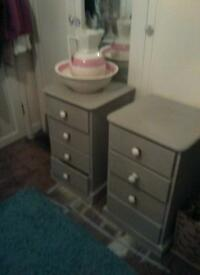 SHABBY CHIC BEDROOM SET UP L@@K