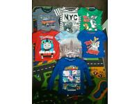 Toddler boys tops (x7), age 2-3 years