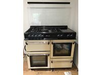 LEISURE COOKMASTER DUAL FUEL CREAM RANGE COOKER
