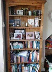 Pine Bookcase Living Room Furniture