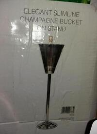 Slimline champagne/wine bucket