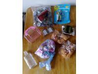 FREE crafting bits n bobs DOLL bottle jigsaw etc