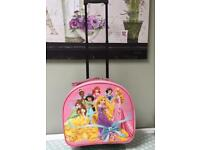Girls Disney Princesses Travel/Holiday/Weekend Case with Wheels and Handle