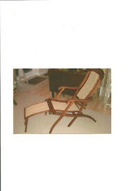 Edwardian Steamer Chair