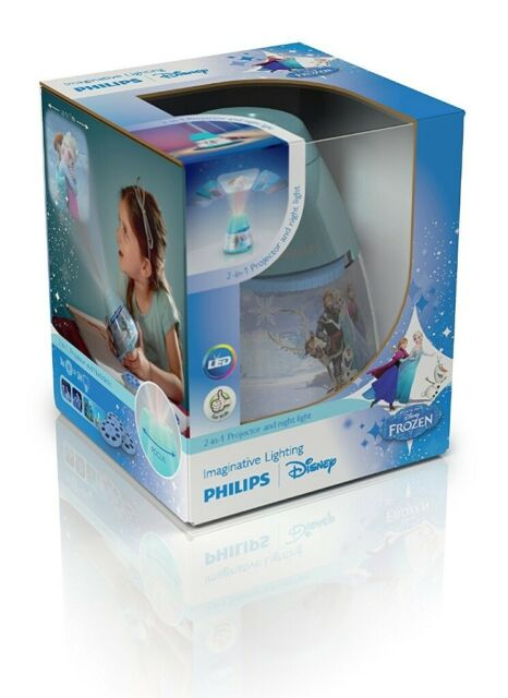 5fb0bf493bd New In Box Philips Disney Frozen Children's LED Night Light and 2 in 1  Projector Only £10