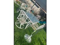 Ornate Garden Furniture/Patio Set
