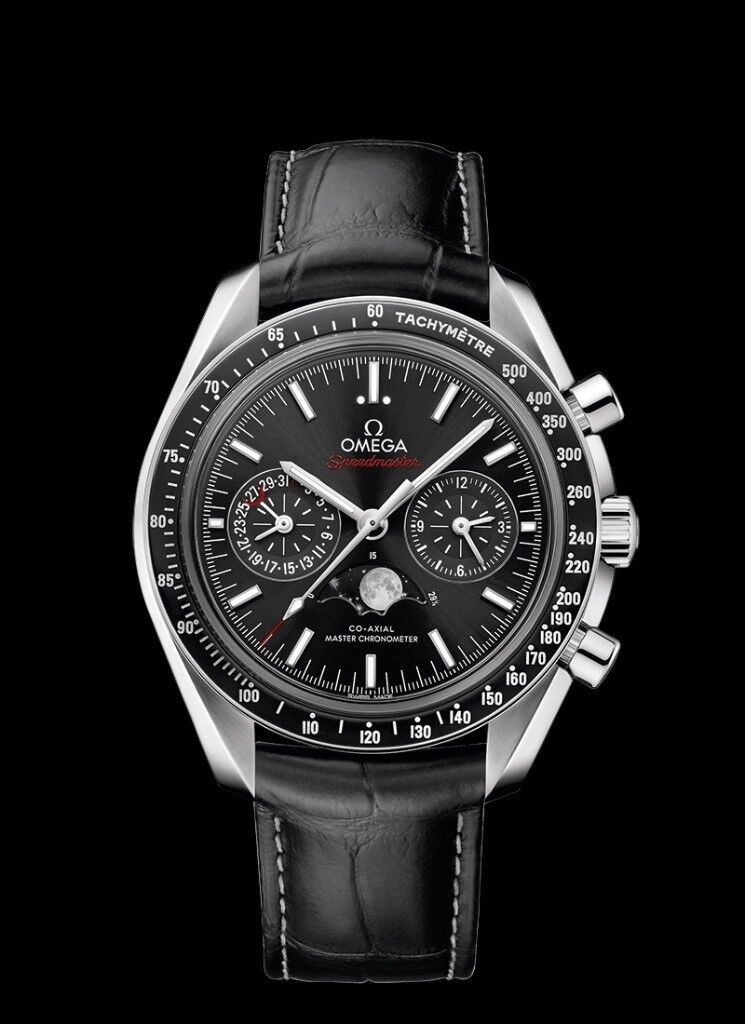 227dd29d921fd Omega Speedmaster Moonwatch Co-Axial Master Chronometer Moonphase  Chronograph - Brand new