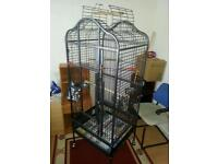 LARGE PARROT CAGE for sale 90 ONO