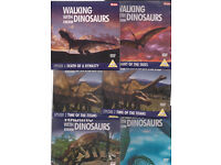 BBC DVDs - 'Walking With Dinosaurs & Beasts' 13 DVDs