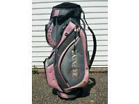 Ladies Ram golf trolley bag