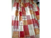 "Long Curtains Harlequin designer ""casa"" very heavy"