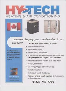 Hy-Tech Heating and Air Conditioning 24/7 Service Kitchener / Waterloo Kitchener Area image 3