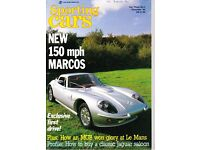 12 ISSUES OF 'SPORTING CARS' - NOV'84 to OCT'85