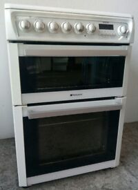 Cannon Ceramic Top Double Oven Cooker - **WITH 1 YEAR WARRANTY**