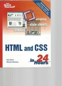 HTML and CSS in 24 Hours