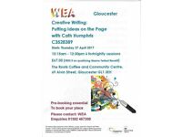 Creative Writing Workshops - WEA course