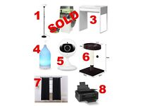 Moving Sale! Various Household Items