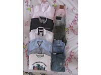 Boys clothes bundle designer shirts & shorts 7/8 yrs, John Rocha,Ted Baker etc.. excellent condition