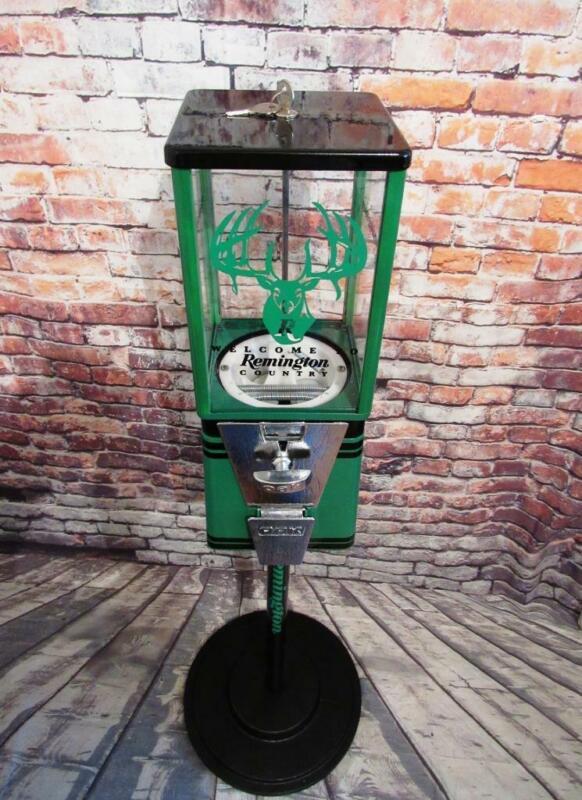 Remington gumball dispenser candy machine game room man cave accessories decor
