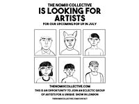 The NOMIII Collective is Looking for Artists - An Opportunity to Collaborate