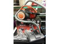 Hoover spritz bagless vacuum with manufacturer's guarantee