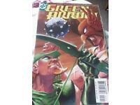 DC comic Green arrow comic books