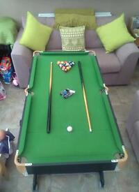 5feet pool table
