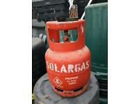 Empty Propane Gas Bottle