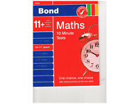 Bond Maths 10 Minute Tests 10-11_ years unused