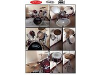 Mapex M series 6 Piece Drum Kit. All Stands included