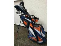 Golf clubs including bag