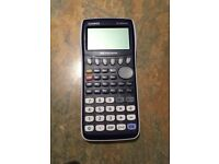 Casio FX-9750GII handheld graphic calculator suitable for GCSE, A level and degree level work
