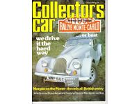4 ISSUES OF 'COLLECTORS CAR' MAGAZINE, 1980