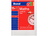 Bond Maths 10 Minute Tests 10-11+ Unused