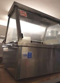 Full Stainless Steel Bakbar Food Warmer / Commerical / Counter top