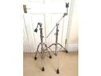 Pearl BC-800 Double Braced Disappearing Boom Stands x 2