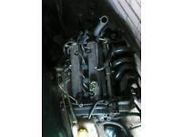 1.25 16v zetec-s complete engine