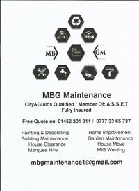 City & Guilds Qualified, Fully Insured Handyman