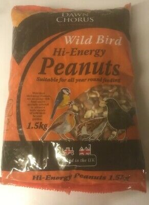 Dawn Chorus High Protein Peanuts Wild Bird Premium Food Birds Feeding Nuts 1.5kg