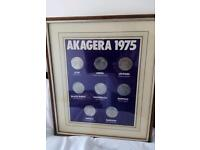 Akagera coin set by Smith's crisps