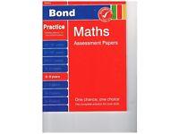 Bond Maths Assessment Papers 8 - 9