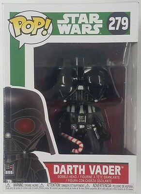 Funko POP Darth Vader w/ Candy Cane #279 Holidays Christmas Star Wars Figure