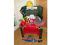Toy Workbench with Accessories