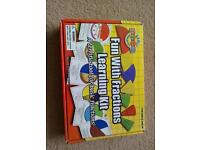 Fun with fractions learning kit