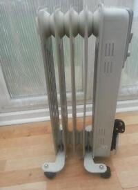Small oil filled radiator