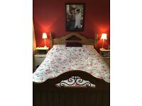 Double bed in excellent condition.