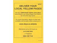 DELIVER YOUR LOCAL YELLOW PAGES